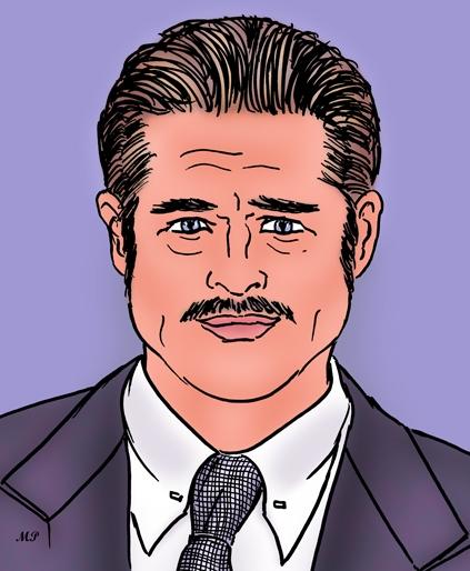 Brad Pitt by MP69
